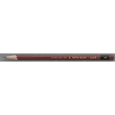 三菱鉛筆(uni) ユニ 4B U4B 1箱(6ダース入:12本×6) (取寄品)
