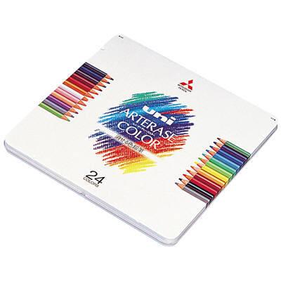 三菱鉛筆(uni) ユニアーテレーズカラー 24色 UAC24C 1箱(3セット入) (取寄品)