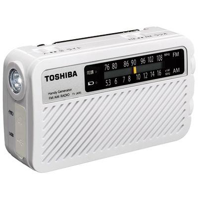 東芝 手回し充電ラジオ TY-JKR5