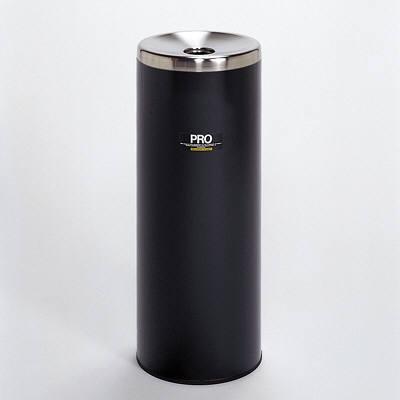 テラモト プロタワー灰皿 (L、黒) SS-266-420-6 (直送品)