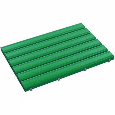 テラモト 抗菌安全スノコ 600×860 緑 MR-093-340-1 (直送品)
