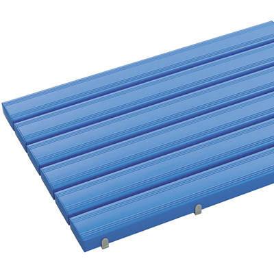 テラモト 抗菌安全スノコ 600×1810 青 MR-093-346-3 (直送品)