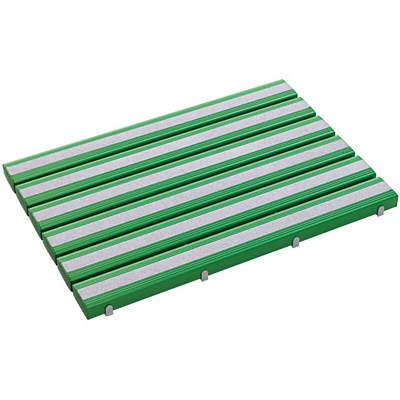 テラモト 抗菌すべり止め安全スノコ 600×860 緑 MR-098-440-1 (直送品)