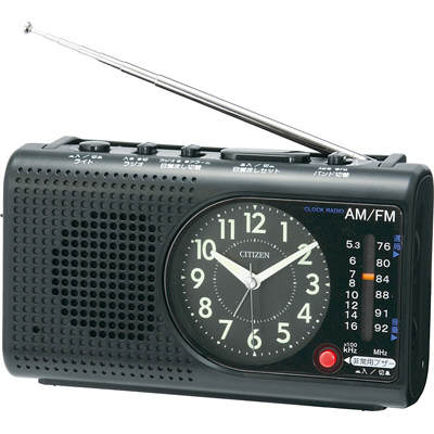 ラジオ付 目覚し時計