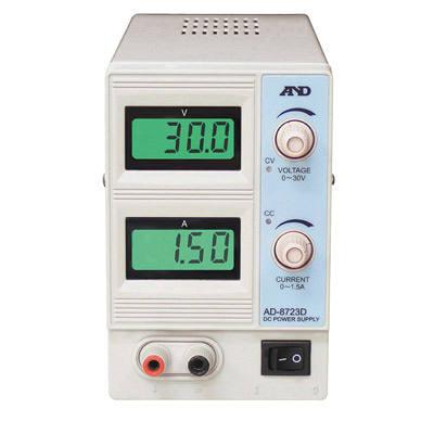 エー・アンド・デイ 直流安定化電源 AD-8723D 1台 (直送品)