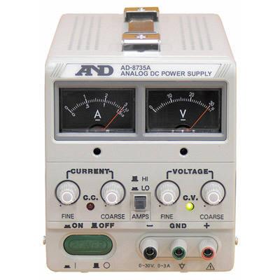 エー・アンド・デイ 直流安定化電源 AD-8735A 1台 (直送品)