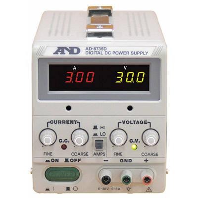 エー・アンド・デイ 直流安定化電源 AD-8735D 1台 (直送品)
