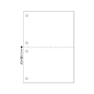 ヒサゴ A5白紙2面4穴 FSC2055 1冊(100枚入) (取寄品)