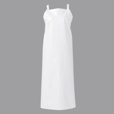 マイティクロス エプロン 胸当てタイプ S ホワイト E1001-0 (取寄品)