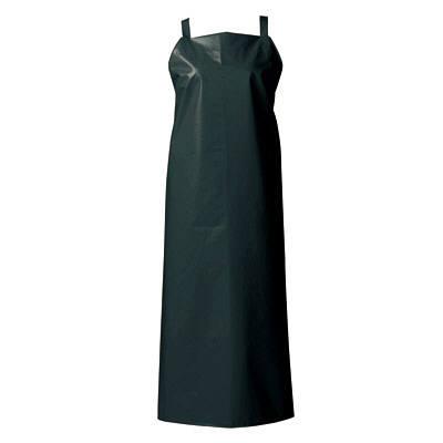 マイティクロス エプロン 胸当てタイプ M ブラック E1001-7 (取寄品)