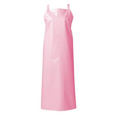 マイティクロス エプロン 胸当てタイプ L ピンク E1001-4 (取寄品)