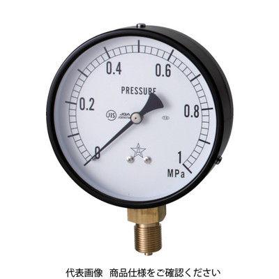 右下精器製造 一般圧力計 G411-211-M-0.5MP 1個 325-9978 (直送品)