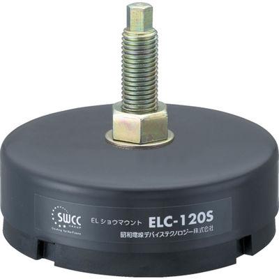 昭和電線ケーブルシステム レベリング付防振ゴム ELC-160 1個 233-0661 (直送品)