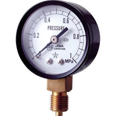 右下精器製造 スター (圧力計) S-11-1MP 1個 308-4264 (直送品)