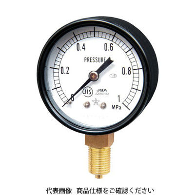 右下精器製造 スター (圧力計) S-21-2.5MP 1個 321-3927 (直送品)