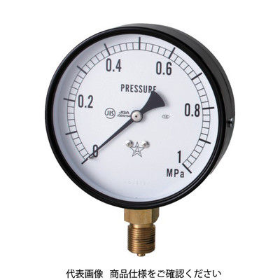 右下精器製造 スター (圧力計) S-41-0.6MP 1個 321-4150 (直送品)