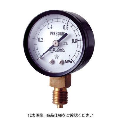 右下精器製造 スター (圧力計) S-11-2MP 1個 308-4281 (直送品)