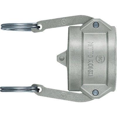 日東工器 日東 レバーロックカプラ(プラグ用キャップ) 相手側取付サイズ:2インチ L-16PD-SUS 1個 120-7636(直送品)