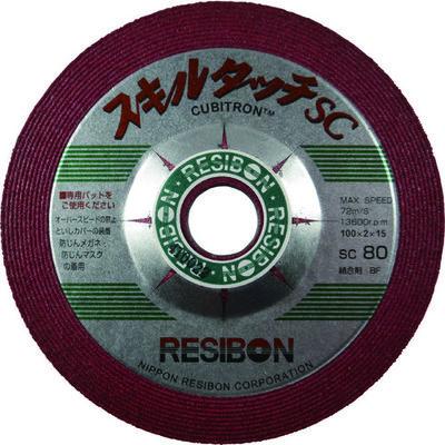 日本レヂボン レヂボン スキルタッチscSsc 100×2×15 80 SSC100280 1セット(25枚入) 325ー0911 (直送品)