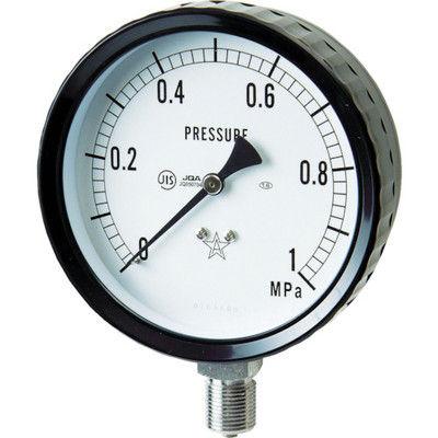 右下精器製造 右下 ステンレス圧力計(A枠立型・φ75) 圧力レンジ0~0.10MPa G311-261-0.1MP 1個 332-8058 (直送品)