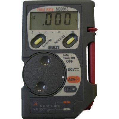 マルチ計測器 マルチ コード収納機能付ポケットマルチ MCD-010 1個 331-7391 (直送品)