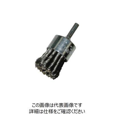 バーテック(BURRTEC) バーテック ワイラーノット軸付エンドブラシSW0.35 MEBB-41A 3754400 1個 353-1244 (直送品)