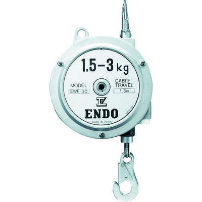 遠藤工業 ENDO スプリングバランサーEWF-3C EWF-3C 1台 364-0833 (直送品)