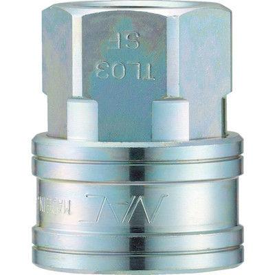 長堀工業 ナック クイックカップリング TL型 鋼鉄製 オネジ取付用 CTL04SF 1個 364-4936 (直送品)