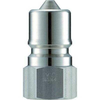 長堀工業 ナック クイックカップリング S・P型 ステンレス製 オネジ取付用 CSP12P3 1個 364-4146 (直送品)