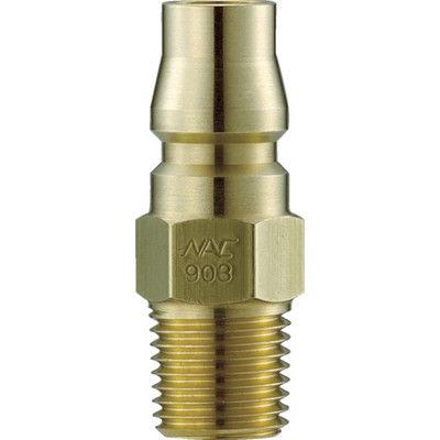 長堀工業 ナック クイックカップリング AL40型 真鍮製 メネジ取付用 CAL48PM2 1個 364-3573 (直送品)