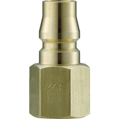 長堀工業 ナック クイックカップリング AL20型 真鍮製 オネジ取付用 CAL23PF2 1個 364-2755 (直送品)