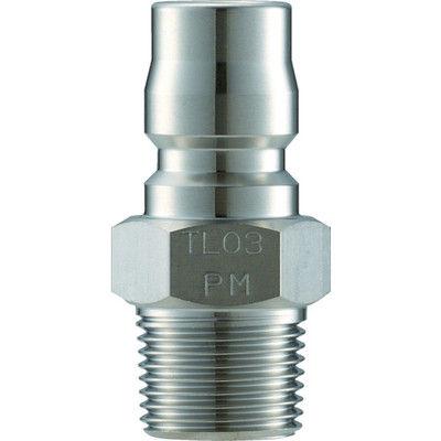 長堀工業 ナック クイックカップリング TL型 ステンレス製 メネジ取付用 CTL10PM3 1個 364-5380 (直送品)
