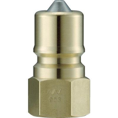 長堀工業 ナック クイックカップリング S・P型 真鍮製 オネジ取付用 CSP16P2 1個 364-4171 (直送品)