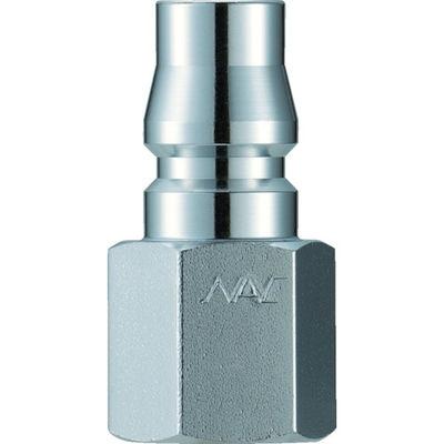 長堀工業 ナック クイックカップリング AL40型 鋼鉄製 オネジ取付用 CAL48PF 1個 364-3506 (直送品)