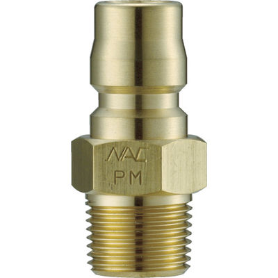 長堀工業 ナック クイックカップリング TL型 真鍮製 メネジ取付用 CTL08PM2 1個 364-5231 (直送品)