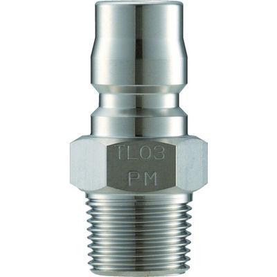 長堀工業 ナック クイックカップリング TL型 ステンレス製 メネジ取付用 CTL08PM3 1個 364-5240 (直送品)