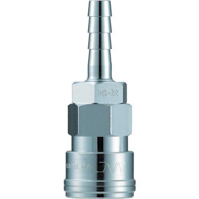 長堀工業 ナック クイックカップリング AL20型 鋼鉄製 ホース取付用 CAL24SH 1個 364-3085 (直送品)