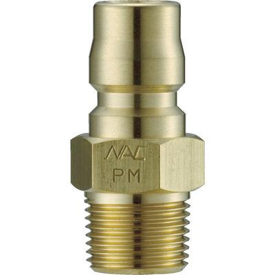 長堀工業 ナック クイックカップリング TL型 真鍮製 メネジ取付用 CTL06PM2 1個 364-5070 (直送品)