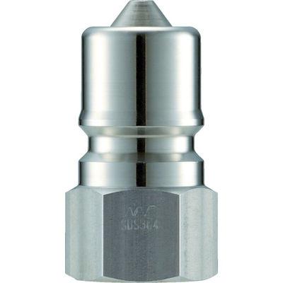 長堀工業 ナック クイックカップリング SPE型 ステンレス製 大流量型 オネジ取付用 CSPE08P3 1個 364-4421 (直送品)