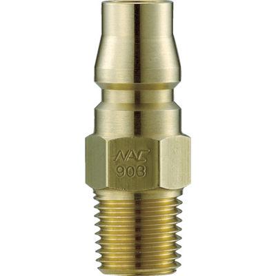 長堀工業 ナック クイックカップリング AL40型 真鍮製 メネジ取付用 CAL44PM2 1個 364-3212 (直送品)