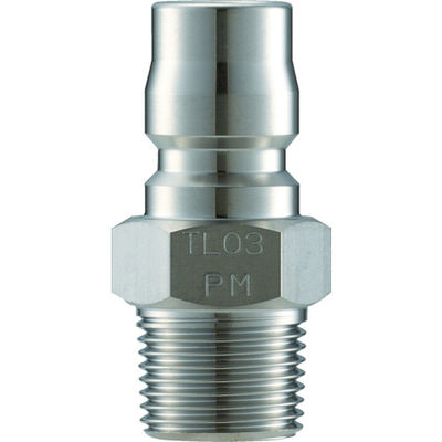 長堀工業 ナック クイックカップリング TL型 ステンレス製 メネジ取付用 CTL01PM3 1個 364-4502 (直送品)