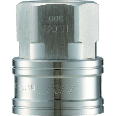長堀工業 ナック クイックカップリング TL型 ステンレス製 オネジ取付用 CTL01SF3 1個 364-4529 (直送品)