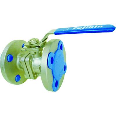 フジキン ステンレス鋼製1MPaフランジ式2ピースボール弁15A(1/2) UBV-21-J10R-D-ALX 365-5482 (直送品)