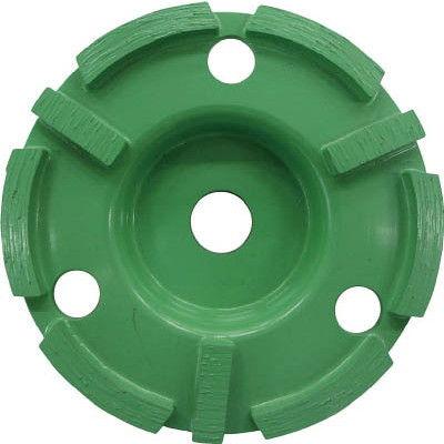 ロブテックス(LOBTEX) ダイヤモンドカップホイール乾式高級品 ダブルカップ CD-4 1個 123-9813 (直送品)