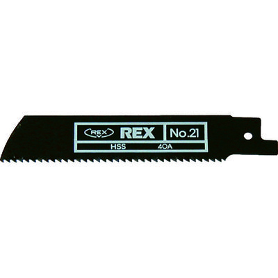 レッキス工業(REX) REX ハイパーソーのこ刃 No.21 HS21 1セット(5枚) 123-0131 (直送品)