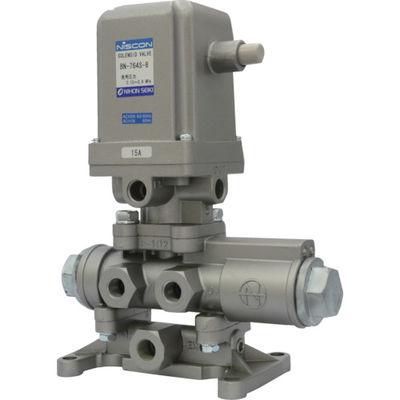日本精器 4方向電磁弁 8A AC100V 76シリーズ BN-764S-8-E100 1個 104-5342 (直送品)