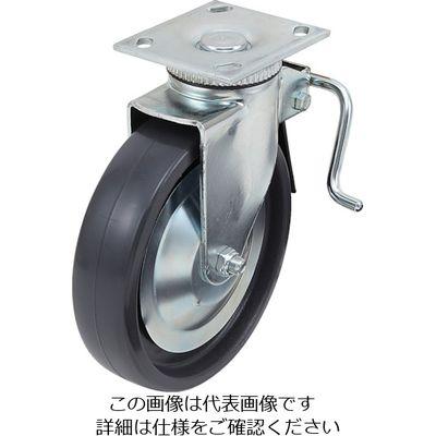 重量用キャスター径203自在ブレーキ付SE(200-139-453 SUG-31-408B-PSE 305-3628 (直送品)