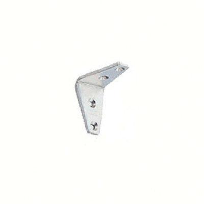スガツネ工業 LAMP ステンレス製アングル棚受SV型サテン仕上40(120ー030ー060 SV40S 1個 320ー3506 (直送品)