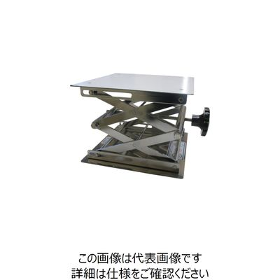 ワーゼフ ラボジャッキSUS304 248×248 ノブタイプ LJ250 1台 505-6527(直送品)