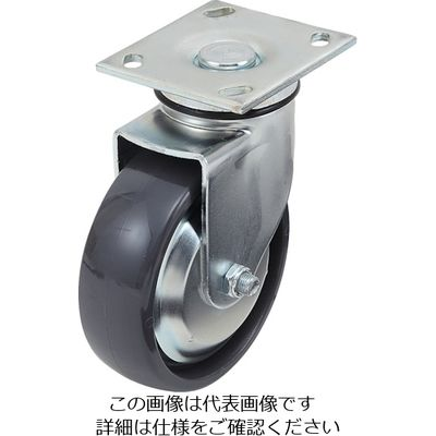 スガツネ工業(SUGATSUNE) 重量用キャスター径152自在SE(200-139-509) SUG-31-406-PSE 1個 305-3580 (直送品)